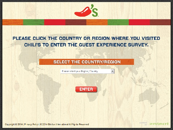 Www chilis com survey
