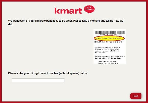 www.kmartfeedback.com | Win A $4000 Kmart Gift Card Survey