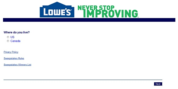 www.lowes.com/survey | Win A $5,000 Lowes Gift Card