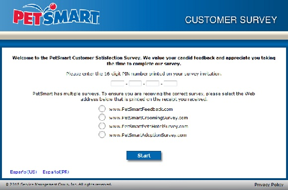 petsmart coupons survey