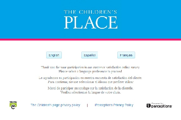 www.placesurvey.com | The Children's Place 20% Off Coupon Survey