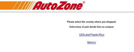 www.autozonecares.com | Autozone Win $10,000 Survey