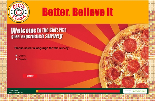 www.cicisvisit.com | CiCi's Pizza Coupon Survey