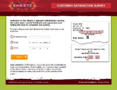 www.sheetzlistens.com | Sheetz Discount Coupon Survey