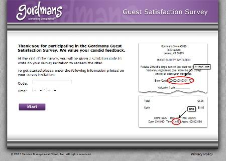 www.tellgordmans.com   Gordman's Coupons Survey