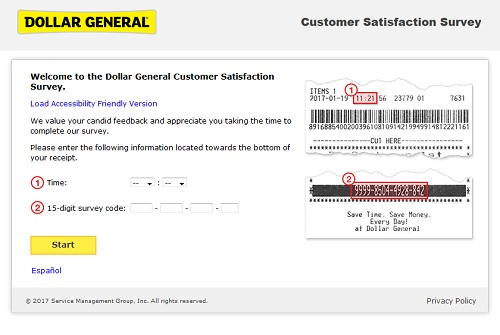 www.dgcustomerfirst.com | Dollar General Customer $1000 Cash Survey Sweepstakes