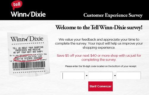 www.tellwinndixie.com | Tell Winn-Dixie $5 Coupon