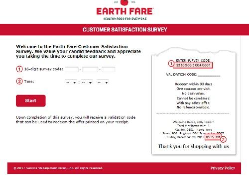 www.earthfarelistens.com   Earth Fare Free Coupon Code Survey