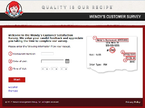 www.mywendysfeedback.com | Wendy's Free Coupon Survey