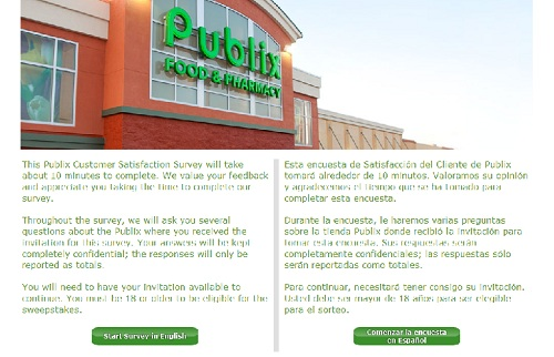 www.publixsurvey.com