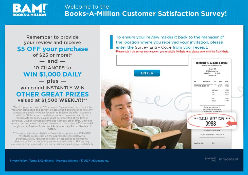 Books a million coupon $5 off $25