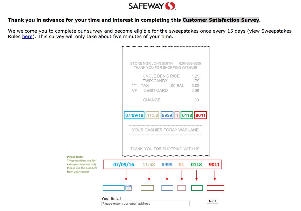 www.safewaysurvey.net