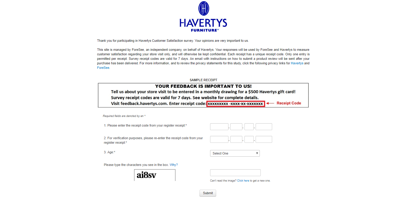 feedback.havertys.com