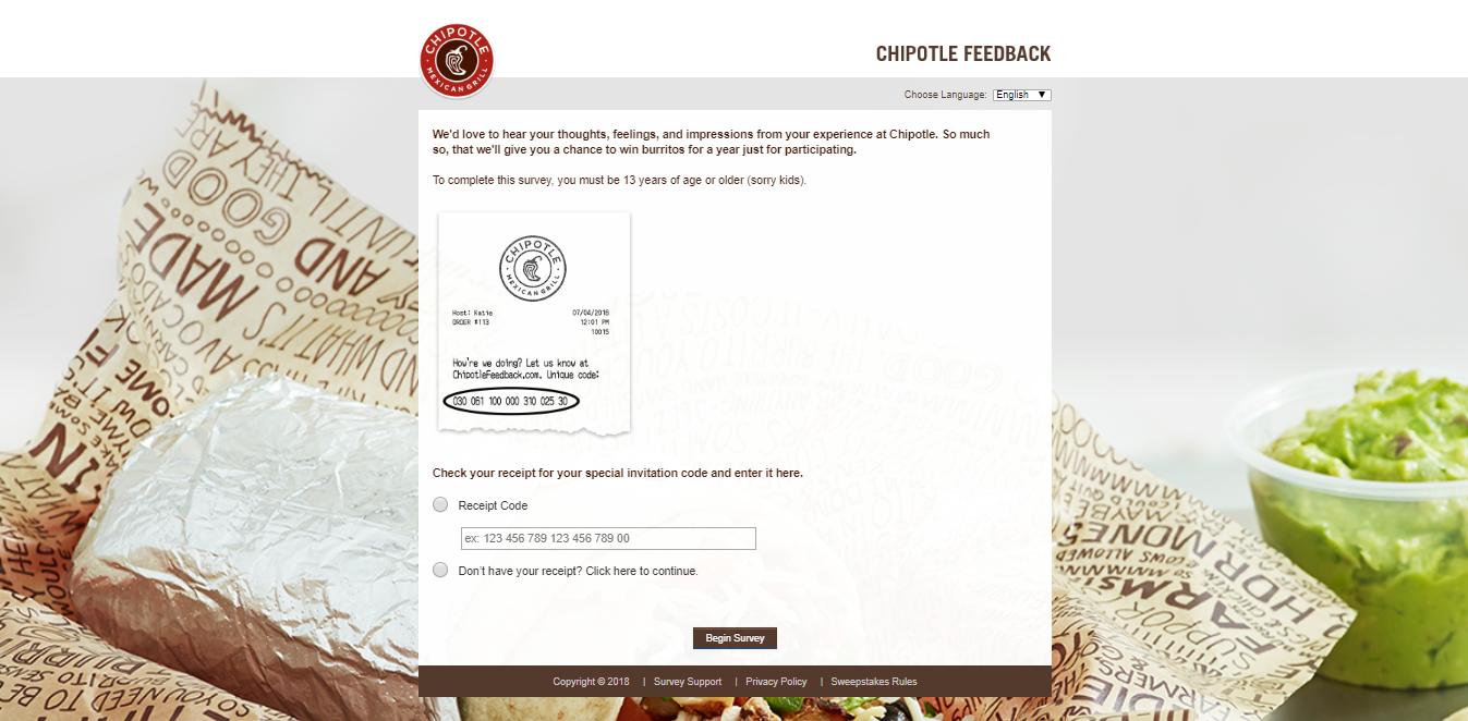 www.chipotlefeedback.com