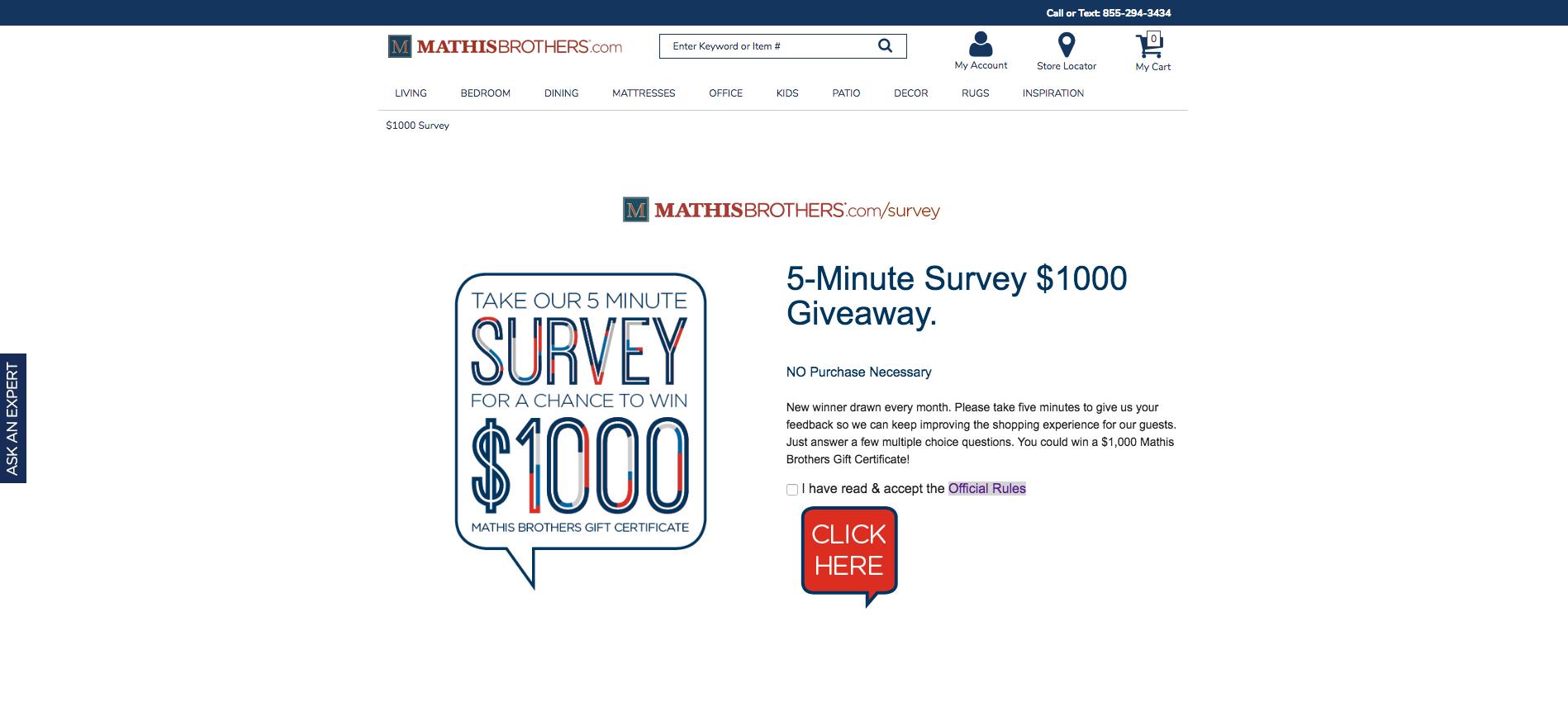 www.mathisbrothers.com/survey