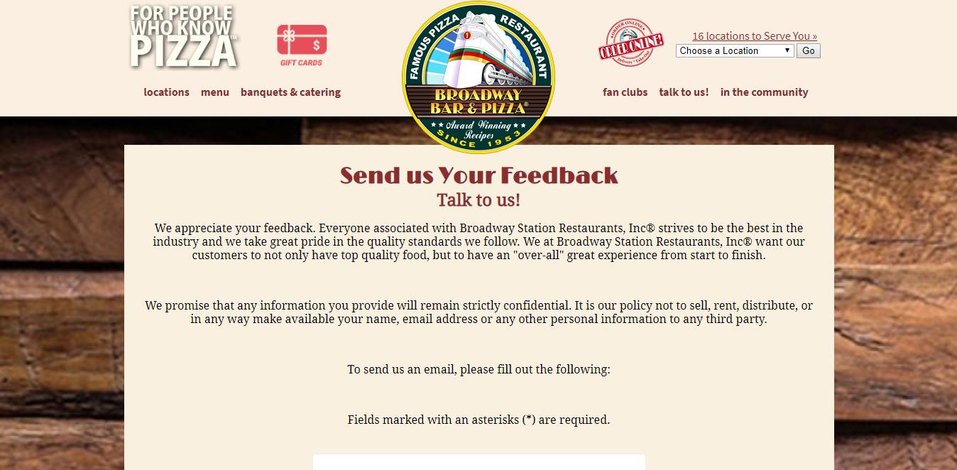 www.broadwaypizza.com/feedback.html