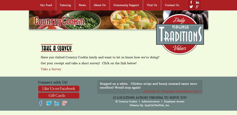 www.countrycookin.com/take-a-survey.php
