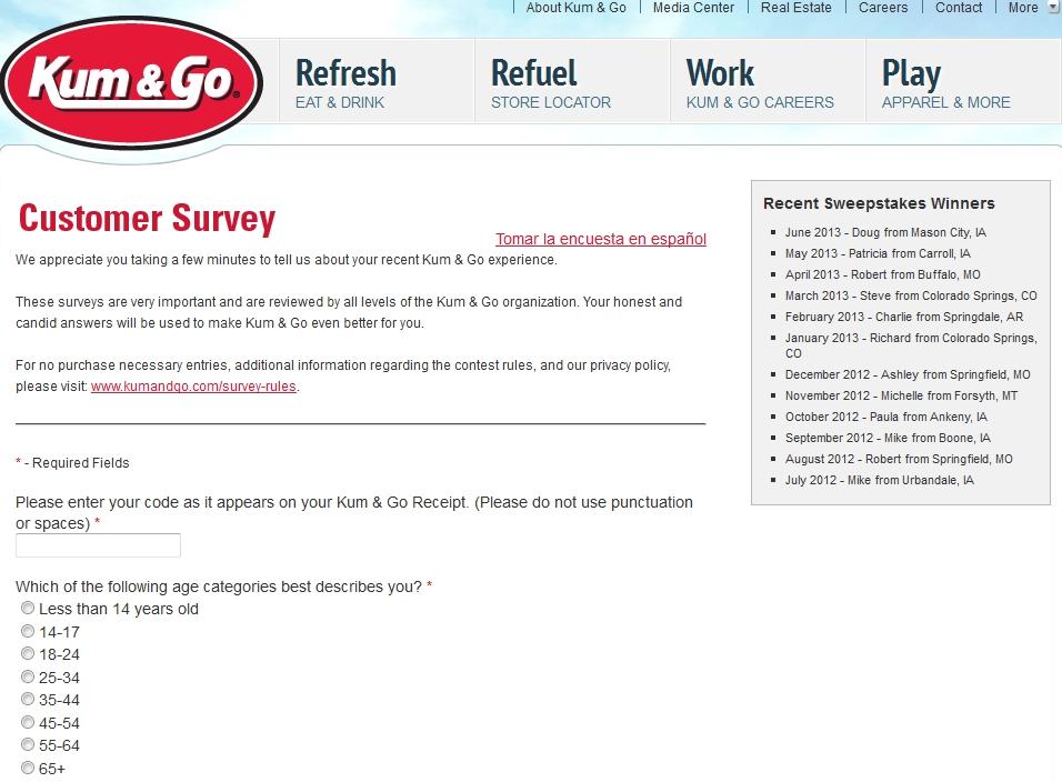 www.kumandgo.com/survey