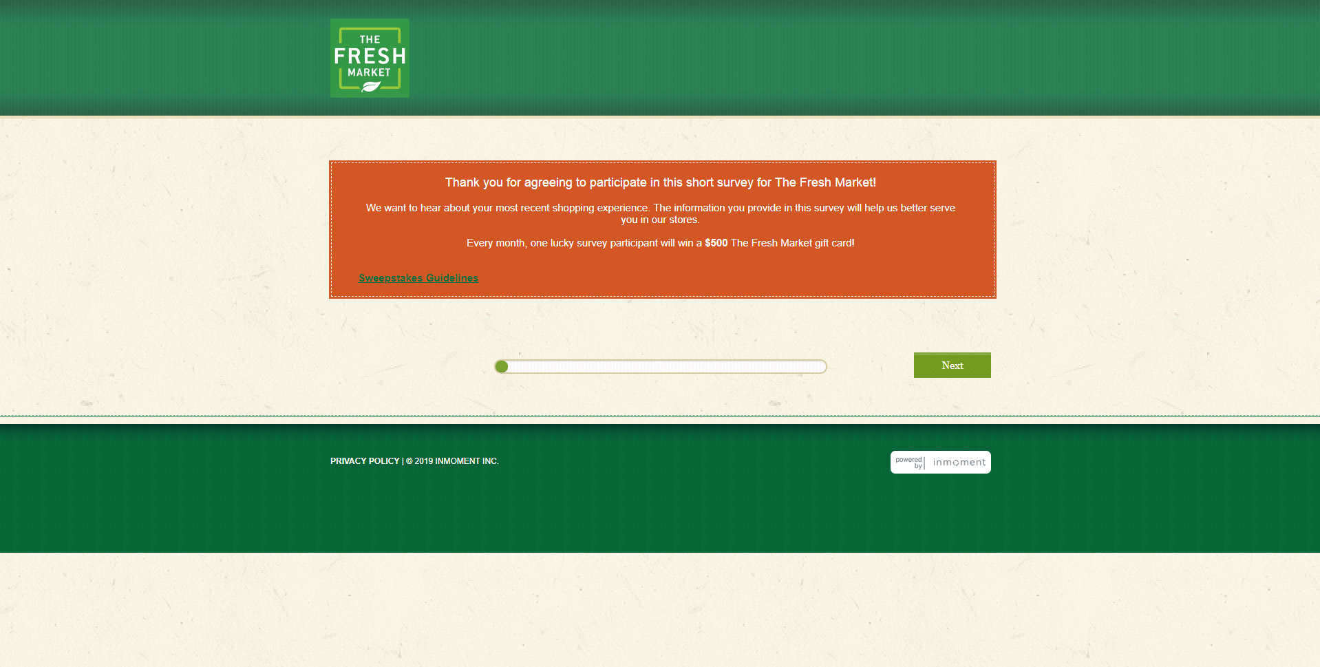www.TheFreshMarketSurvey.com
