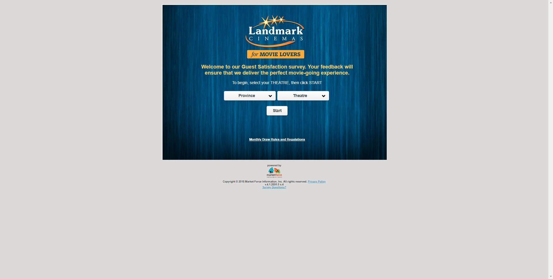 landmark.survey.marketforce.com