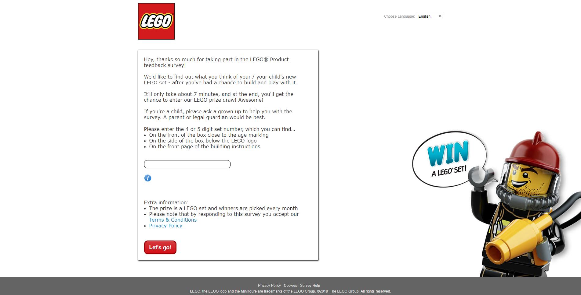 survey.medallia.com/legoproduct?domainredir=lego.com