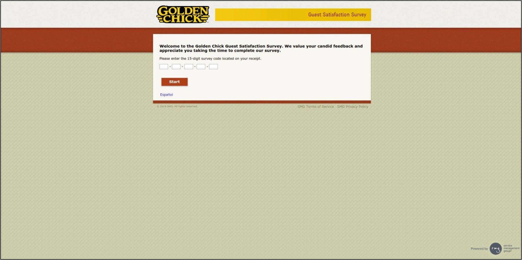 www.GoldenChickSurvey.com